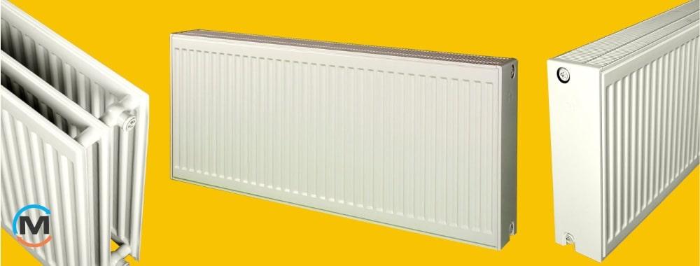 Объем стального радиатора отопления тип 22